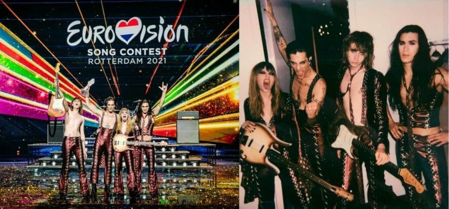 Eurovision, con i Månesksin trionfa anche la pelle made in Italy