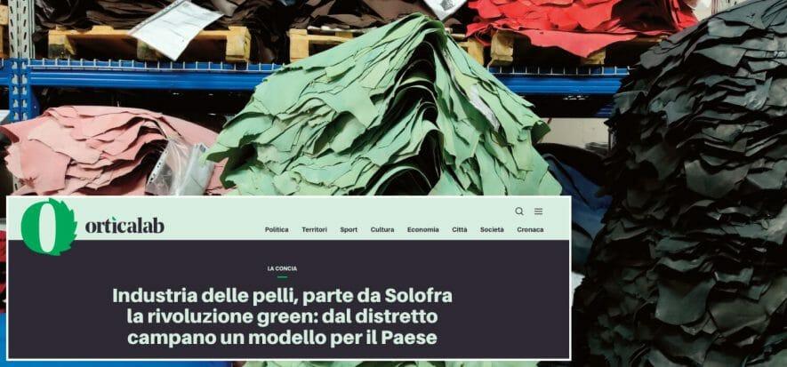 La pelle, la concia, Solofra e la rivoluzione green di SSIP