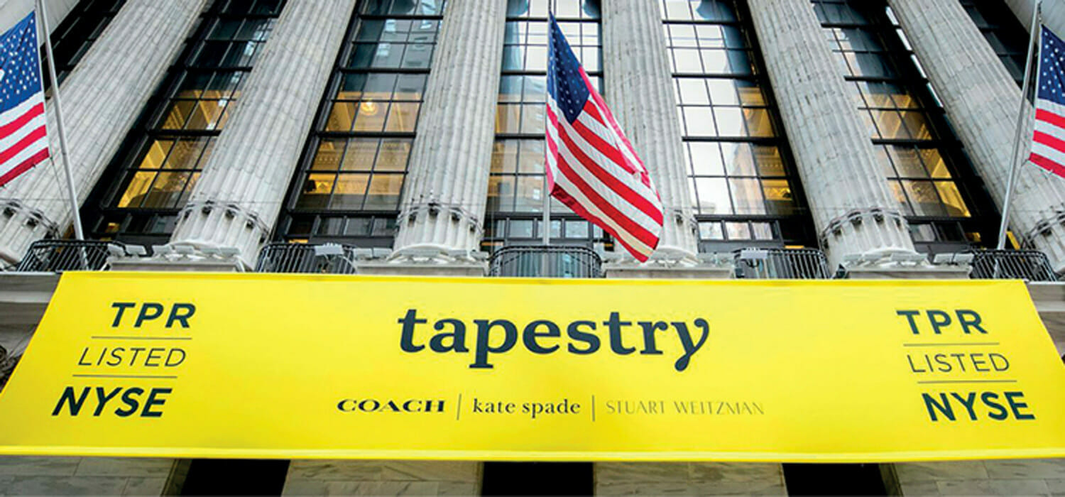 Tapestry sees a recovery in the first quarter and smiles