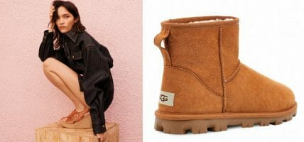 UGG's lifestyle evolution and a focus on ovine leather