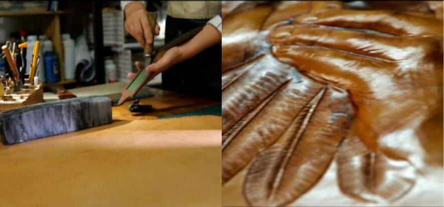 L'artigiana che sogna il museo dell'arte uigura della pelle