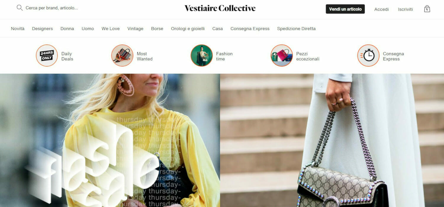 Vestiaire Collective flies and Kering enjoys the investment