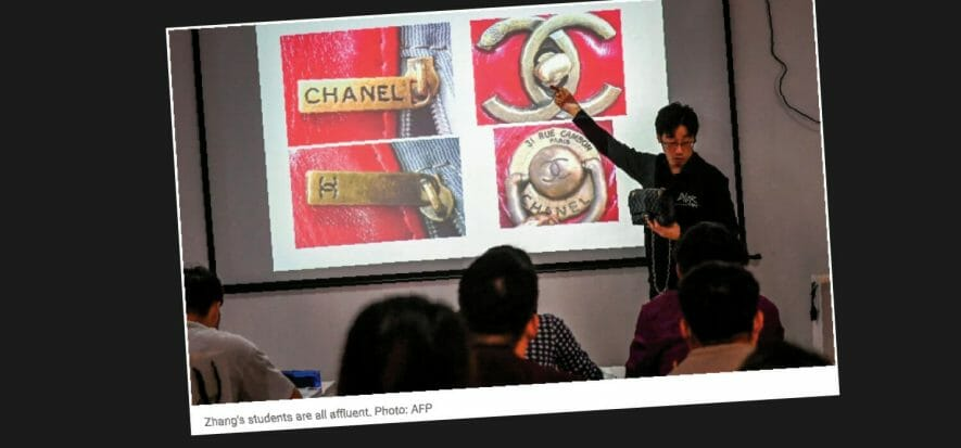 The Chinese course to learn how to unmask fakes