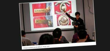 Il corso cinese per imparare a smascherare i falsi