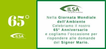 ILSA festeggia i 65 anni di attività parlando di sostenibilità