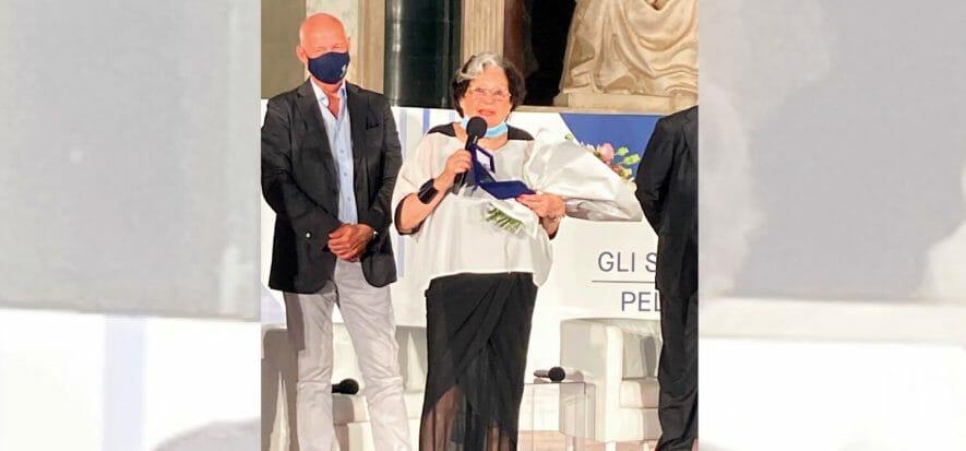 Il premio alla carriera e un libro: Carla Braccialini si racconta