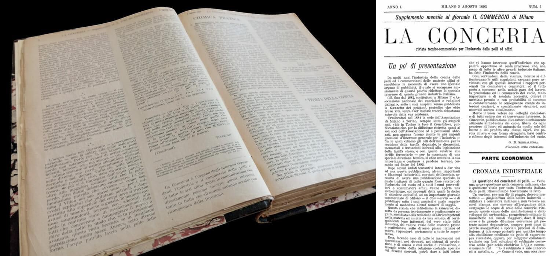 1893: i primi 5 numeri della nostra storia li potete sfogliare qui