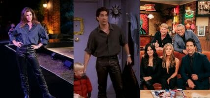 Il romanticismo dei pantaloni di pelle della reunion di Friends