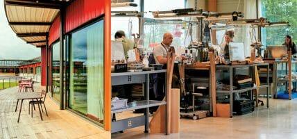Hermès inaugura una pelletteria a Montereau