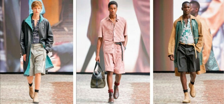 Per Hermès l'uomo del 2022 e la pelle sono leggeri come l'aria