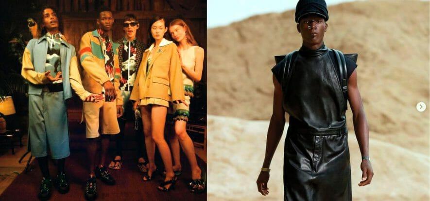 Creatività, libertà, fuga: il risveglio della moda sfila a Parigi