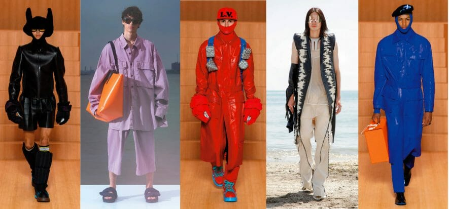 Parigi, la moda, l'estate 22: si accendono i colori in passerella
