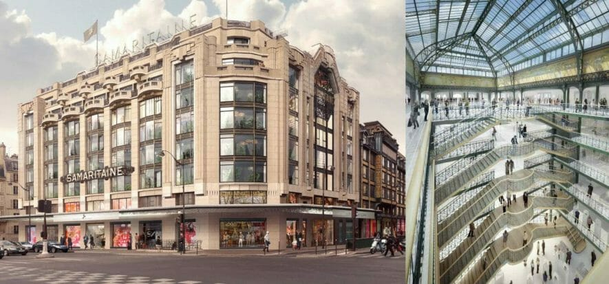 Le Samaritaine can now open: physical retail turns on its engines