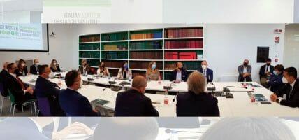 Dall'innovazione al made in Italy: Luigi Di Maio visita SSIP