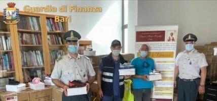 In beneficenza le sneaker fake sequestrate al porto di Bari
