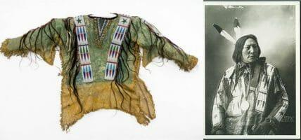 Dopo un secolo, la camicia in pelle del capo indiano va agli eredi