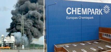 Fuoco al Chempark di Leverkusen: timori per la chimica conciaria