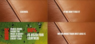 From Food To Fashion: a video explains why leather is sustainable
