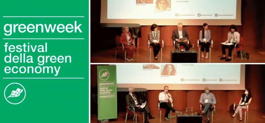 Italian leather talks about itself in the Green Week talks
