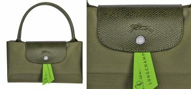 Longchamp's choice: believing in leather and substituting cloth