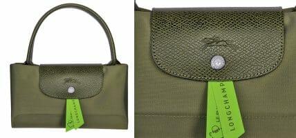 La scelta di Longchamp: credere nella pelle e sostituire la tela