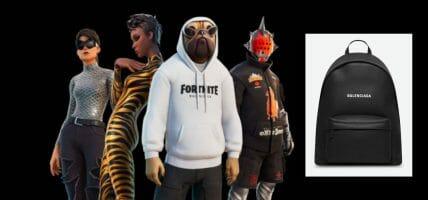 Le frontiere del gaming: Balenciaga veste 4 avatar di Fortnite