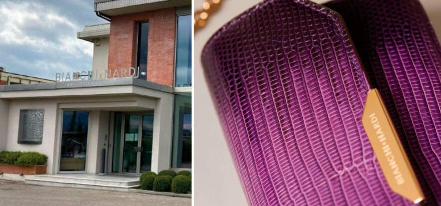Bianchi and Nardi, a new plant for small leather goods