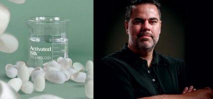 Le finiture sostenibili con la biotecnologia Activated Silk