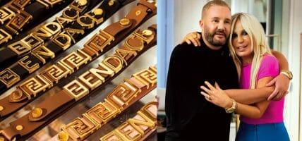 Il coraggioso scambio (pure produttivo) tra Versace e Fendi