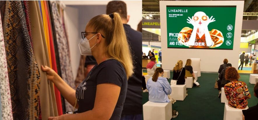 A restart with a bang: more than 11.000 visitors at Lineapelle