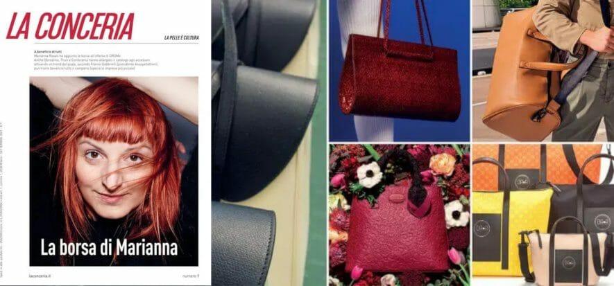 Che movimento: la borsa di Marianna porta con sé grandi novità