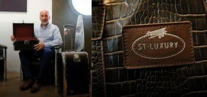 Dagli aerei alle borse: l'incredibile riconversione di ST Luxury