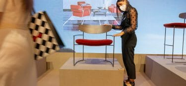 The Supersalone closes well and luxury design items recover