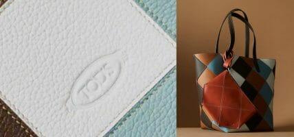 Tod's Mosaic, capsule circolare che recupera gli scarti di pelle