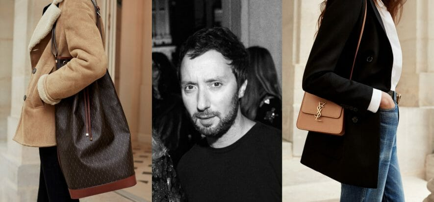 According to Vaccarello, the future of luxury is all talk