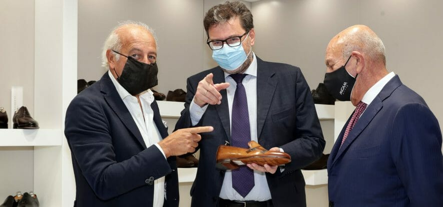 La calzatura allo specchio: un convegno a Micam con Giorgetti