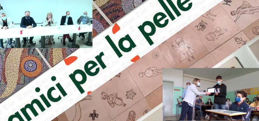 Amici per la Pelle saluta i partecipanti e dà appuntamento al 2022
